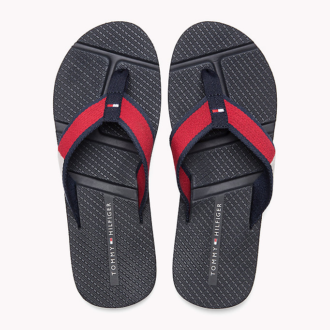 TOMMY HILFIGER Flag Flip-Flops - MIDNIGHT - TOMMY HILFIGER Men - detail image 3