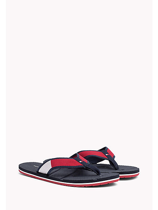 TOMMY HILFIGER Flag Flip-Flops - RWB - TOMMY HILFIGER Shoes - main image