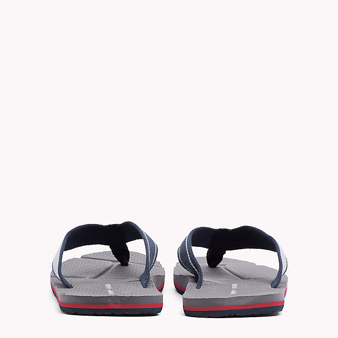 TOMMY HILFIGER Flag Flip-Flops - BLACK - TOMMY HILFIGER Men - detail image 2
