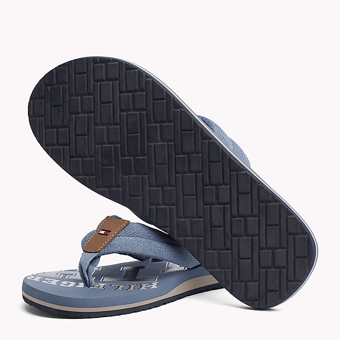 TOMMY HILFIGER Tommy Beach Sandals - MIDNIGHT - TOMMY HILFIGER Men - detail image 1