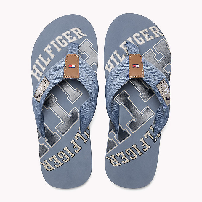 TOMMY HILFIGER Tommy Beach Sandals - MIDNIGHT - TOMMY HILFIGER Men - detail image 3
