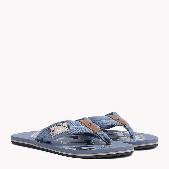 TOMMY HILFIGER Tommy Beach Sandals - MIDNIGHT - TOMMY HILFIGER Men - main image
