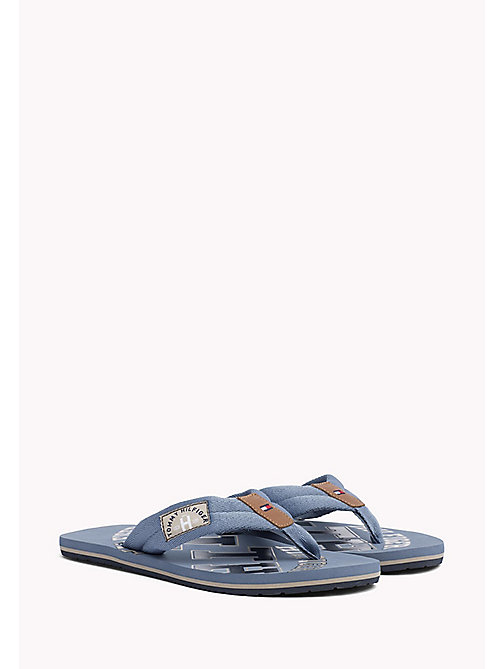TOMMY HILFIGER Tommy Beach Sandals - JEANS - TOMMY HILFIGER Summer shoes - main image