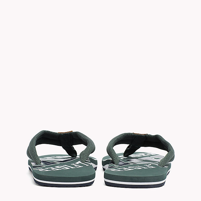TOMMY HILFIGER Tommy Beach Sandals - STEEL GREY - TOMMY HILFIGER Men - detail image 2
