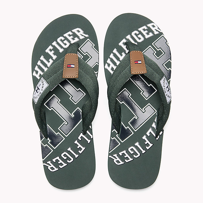 TOMMY HILFIGER Tommy Beach Sandals - STEEL GREY - TOMMY HILFIGER Shoes - detail image 3