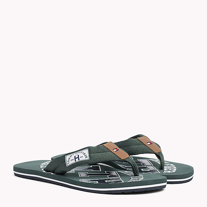 TOMMY HILFIGER Tommy Beach Sandals - STEEL GREY - TOMMY HILFIGER Shoes - main image