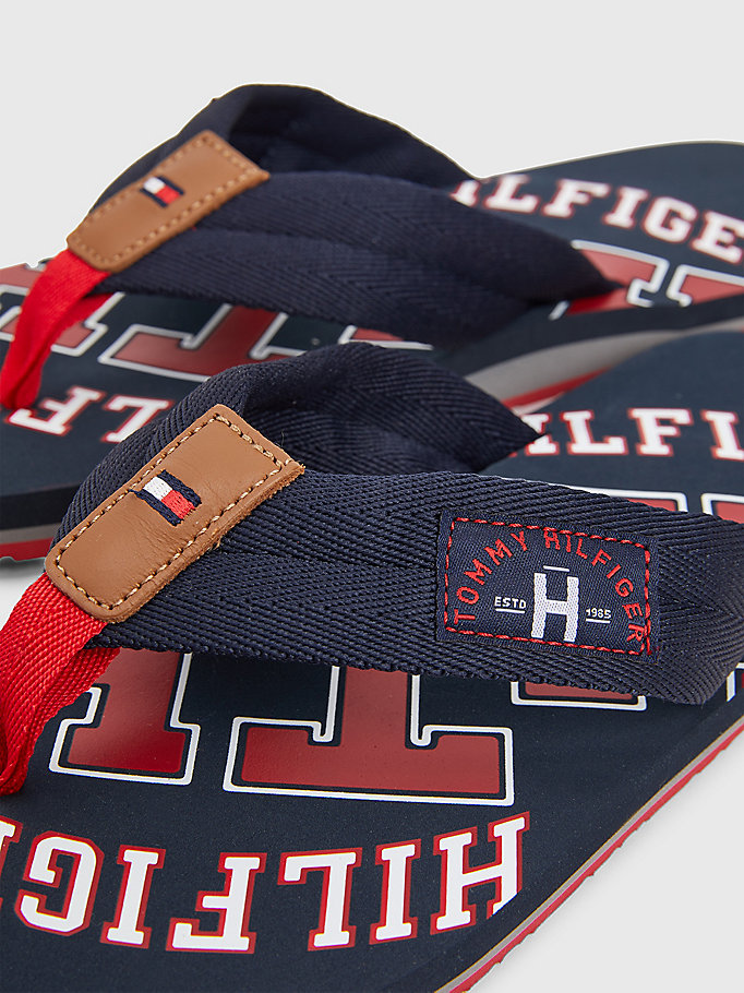 TOMMY HILFIGER Tommy Beach Sandals - BLACK - TOMMY HILFIGER Men - detail image 2