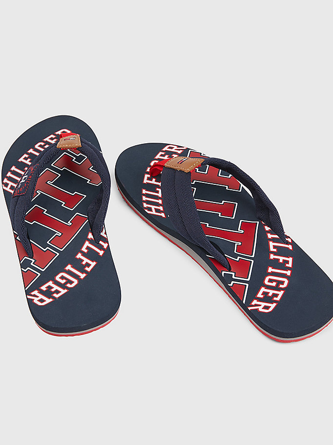 TOMMY HILFIGER Tommy Beach Sandals - BLACK - TOMMY HILFIGER Men - detail image 3