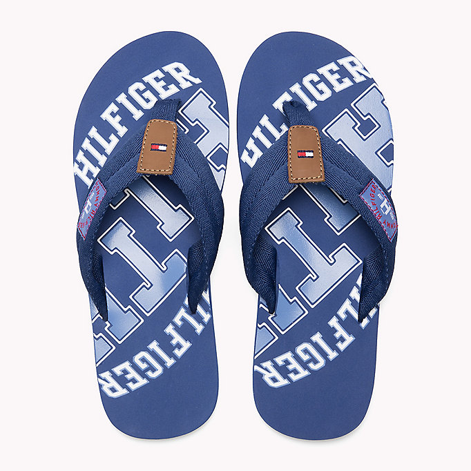 TOMMY HILFIGER Tommy Beach Sandals - JEANS - TOMMY HILFIGER Men - detail image 3