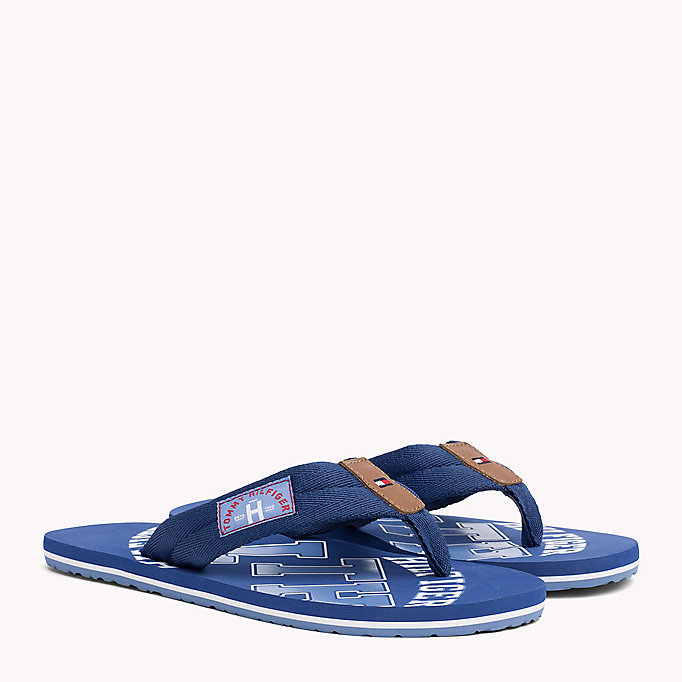 TOMMY HILFIGER Tommy Beach Sandals - JEANS - TOMMY HILFIGER Men - main image