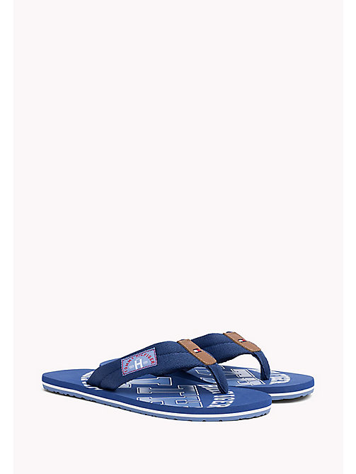 TOMMY HILFIGER Tommy Beach Sandals - MONACO BLUE - TOMMY HILFIGER Shoes - main image