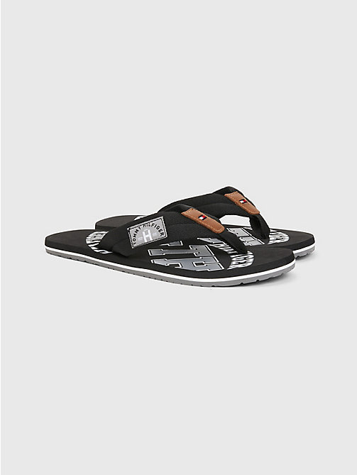 TOMMY HILFIGER Tommy Beach Sandals - BLACK - TOMMY HILFIGER Sandals & Flip Flops - main image