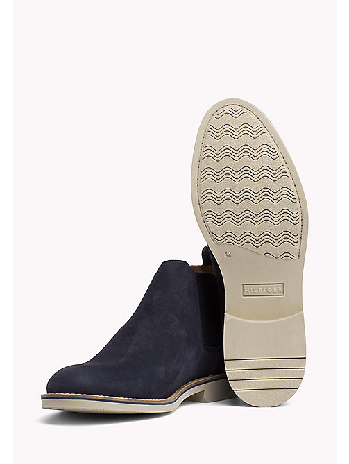 Suede Chelsea Boots - MIDNIGHT - TOMMY HILFIGER Shoes - detail image 1