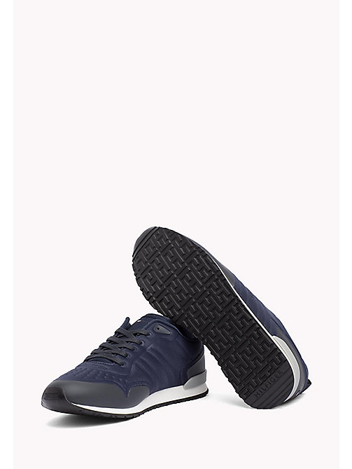 TOMMY HILFIGER Neoprene Low-Cut Trainers - MIDNIGHT - TOMMY HILFIGER Trainers - detail image 1