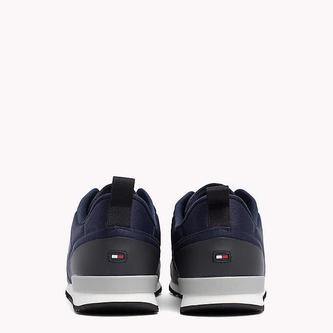 TOMMY HILFIGER Neoprene Low-Cut Trainers - TANGO RED - TOMMY HILFIGER Men - detail image 2