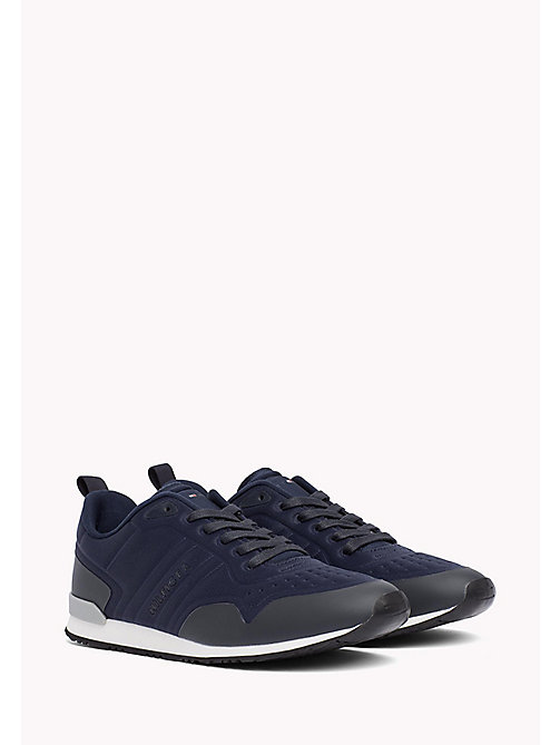 TOMMY HILFIGER Neoprene Low-Cut Trainers - MIDNIGHT - TOMMY HILFIGER Shoes - main image