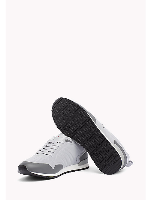 TOMMY HILFIGER Neoprene Low-Cut Trainers - LIGHT GREY-STEEL GREY - TOMMY HILFIGER NEW IN - detail image 1