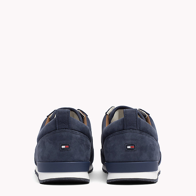 TOMMY HILFIGER Iconic Nubuck Trainers - SAND - TOMMY HILFIGER Shoes - detail image 2