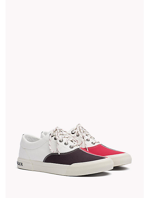 TOMMY HILFIGER Stoffen zeilsneaker - RWB - TOMMY HILFIGER Sneakers - main image