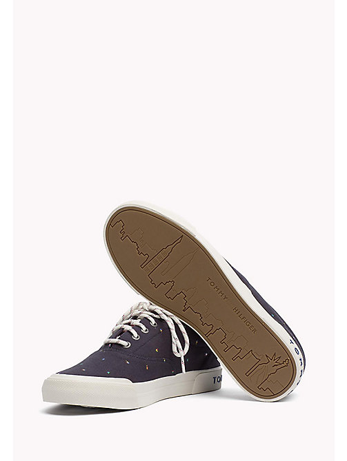 TOMMY HILFIGER Textile Sneaker - MIDNIGHT - TOMMY HILFIGER Trainers - detail image 1