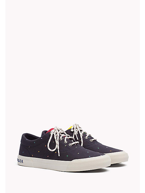 TOMMY HILFIGER Textile Sneaker - MIDNIGHT - TOMMY HILFIGER Trainers - main image