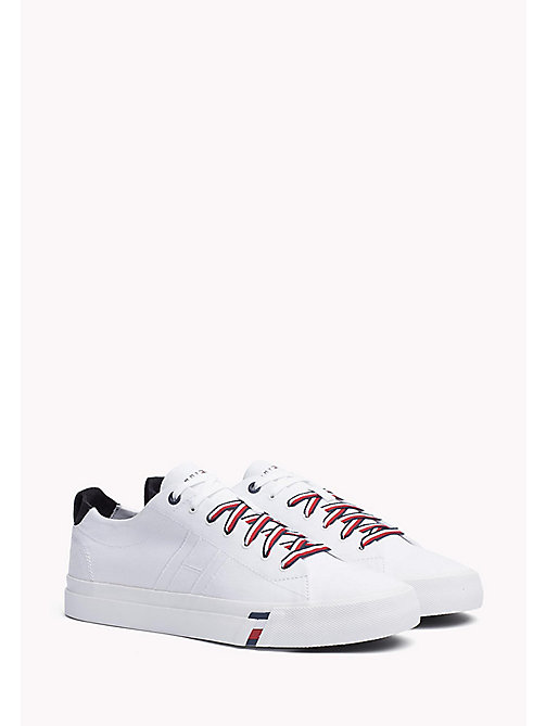 Canvas Sneaker - WHITE - TOMMY HILFIGER Shoes - main image