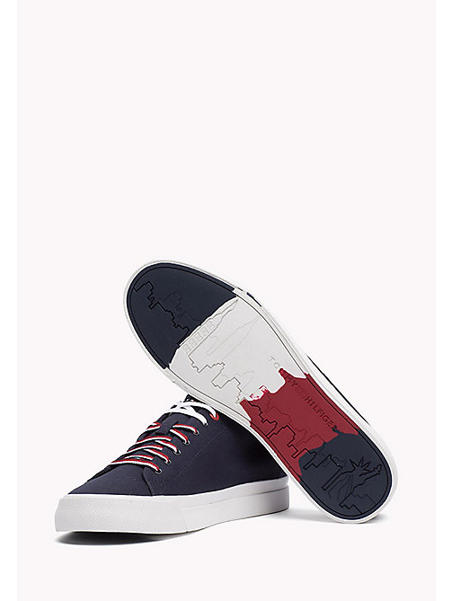 TOMMY HILFIGER Canvas sneaker - MIDNIGHT - TOMMY HILFIGER Sneakers - detail image 1