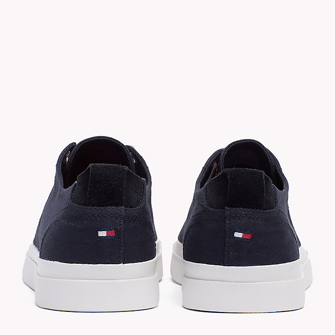 TOMMY HILFIGER Canvas Sneaker - WHITE - TOMMY HILFIGER Men - detail image 2