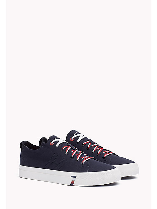 TOMMY HILFIGER Canvas sneaker - MIDNIGHT - TOMMY HILFIGER Sneakers - main image