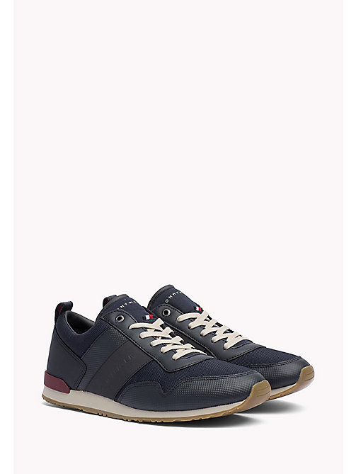 TOMMY HILFIGER Mesh Mix Trainers - MIDNIGHT - TOMMY HILFIGER Shoes - main image