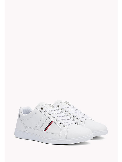 TOMMY HILFIGER Classic Leather Trainers - WHITE - TOMMY HILFIGER Sneakers - main image