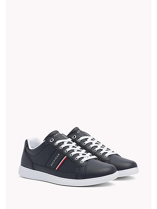 Classic Leather Trainers - MIDNIGHT - TOMMY HILFIGER Shoes - main image