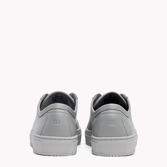 TOMMY HILFIGER Classic Leather Trainers - WHITE - TOMMY HILFIGER Men - detail image 2