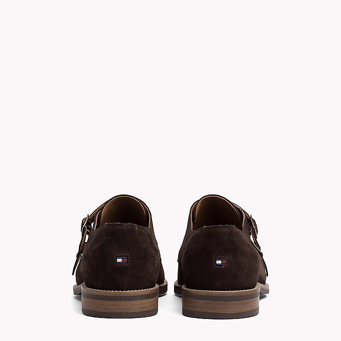TOMMY HILFIGER Suede Monk Shoes - MIDNIGHT - TOMMY HILFIGER Men - detail image 2