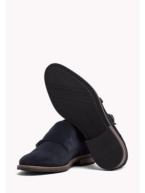 TOMMY HILFIGER Suede Monk Shoes - MIDNIGHT - TOMMY HILFIGER Shoes - detail image 1