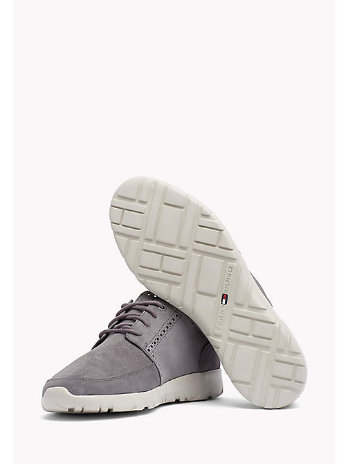 Lightweight City Runner Trainers - STEEL GREY - TOMMY HILFIGER Shoes - detail image 1