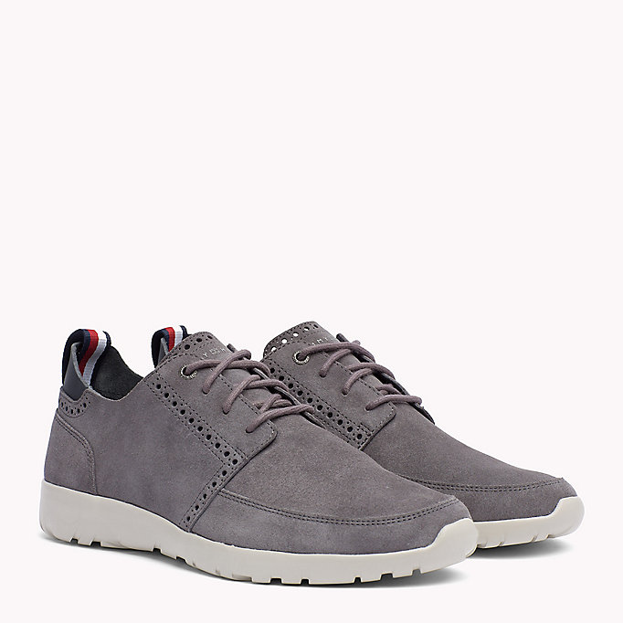 factory price new styles arriving Lightweight City Runner Trainers | GREY | Tommy Hilfiger