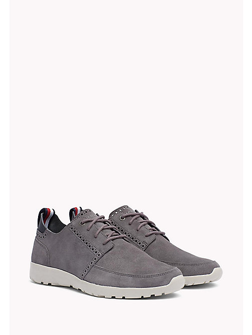 Lightweight City Runner Trainers - STEEL GREY - TOMMY HILFIGER Shoes - main image