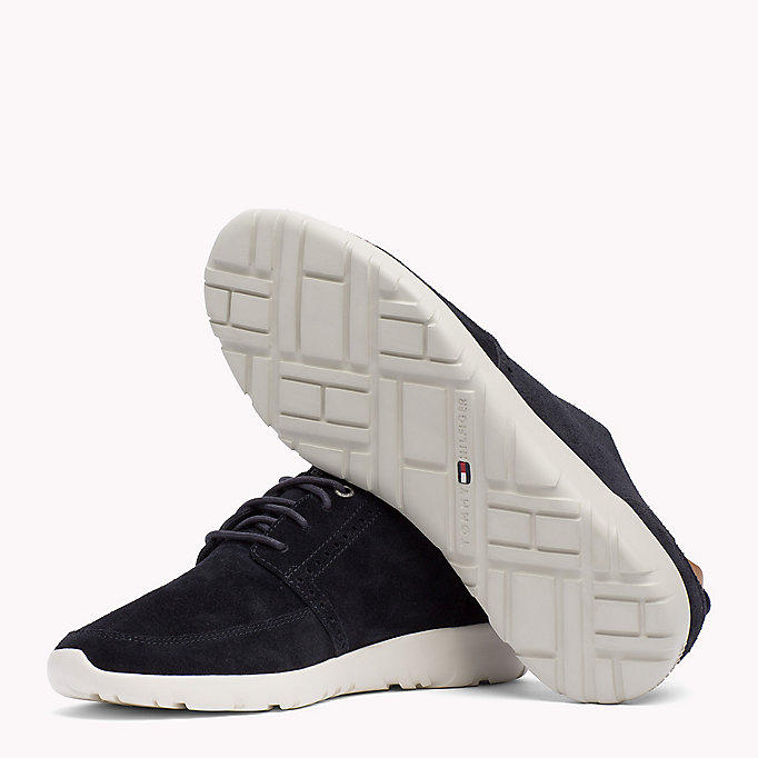 TOMMY HILFIGER Lightweight City Runner Trainers - STEEL GREY - TOMMY HILFIGER Shoes - detail image 1