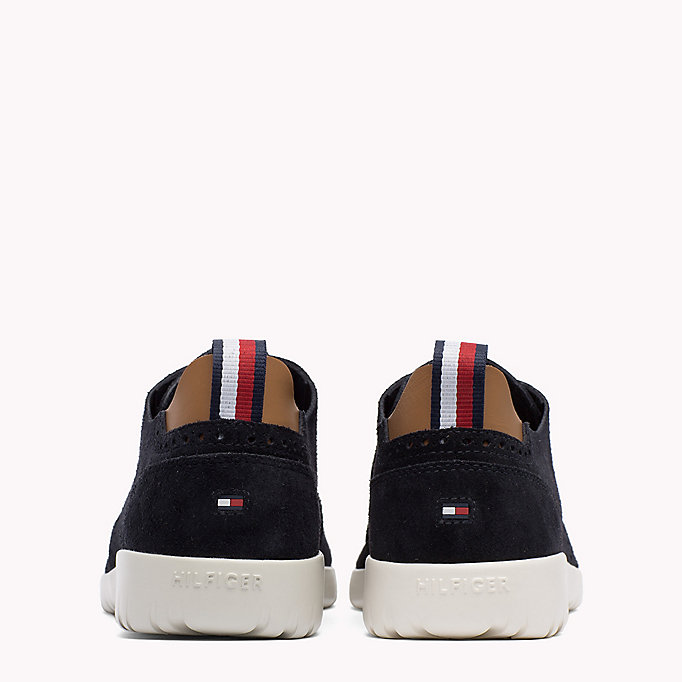 TOMMY HILFIGER Lightweight City Runner Trainers - STEEL GREY - TOMMY HILFIGER Shoes - detail image 2