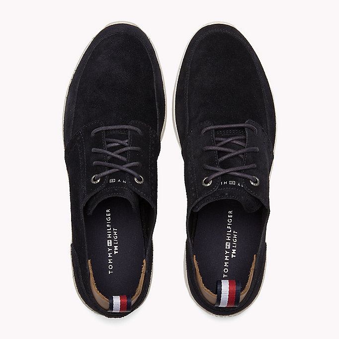 TOMMY HILFIGER Lightweight City Runner Trainers - STEEL GREY - TOMMY HILFIGER Shoes - detail image 3