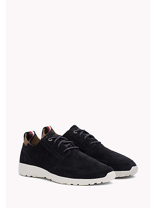 TOMMY HILFIGER Lightweight City Runner Trainers - MIDNIGHT - TOMMY HILFIGER Shoes - main image
