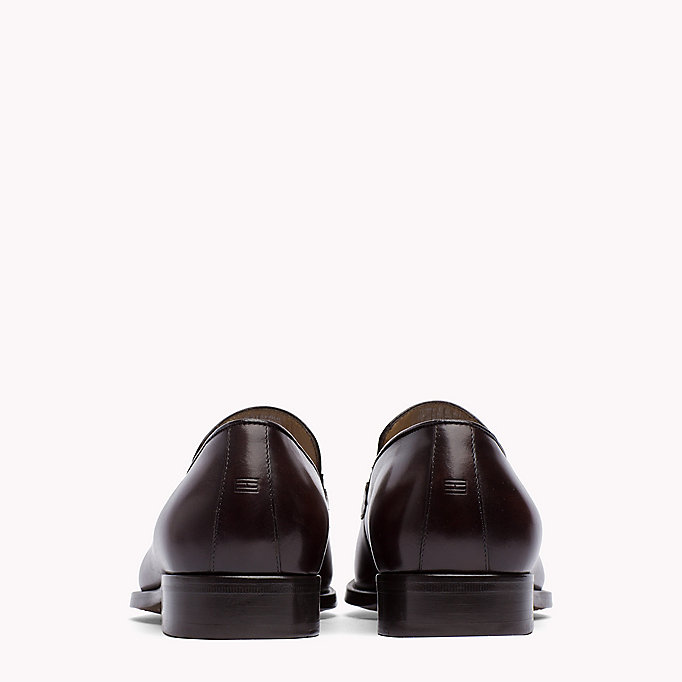 TOMMY HILFIGER Classic Leather Loafers - BLACK - TOMMY HILFIGER Men - detail image 2