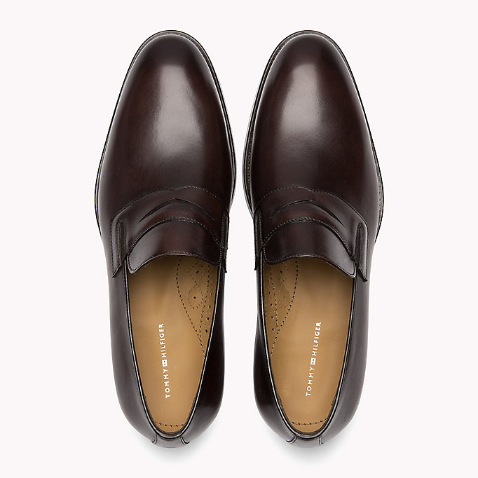 TOMMY HILFIGER Classic Leather Loafers - BLACK - TOMMY HILFIGER Men - detail image 3