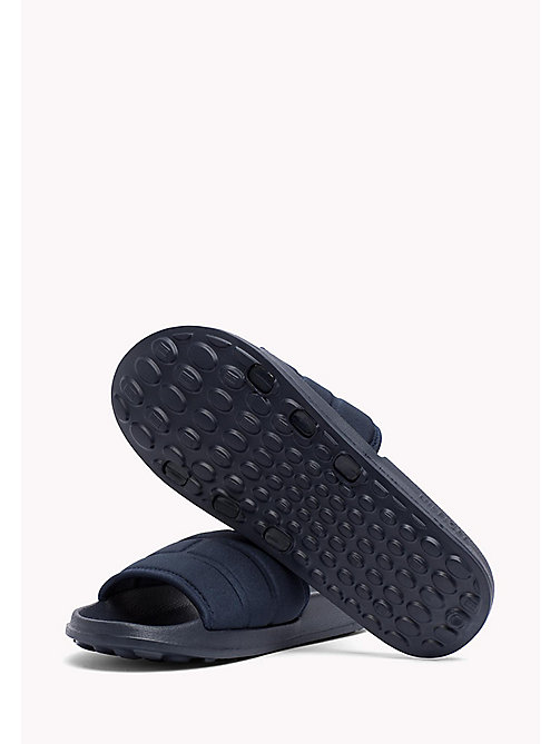TOMMY HILFIGER Tommy Hilfiger Sliders - MIDNIGHT - TOMMY HILFIGER Summer shoes - detail image 1