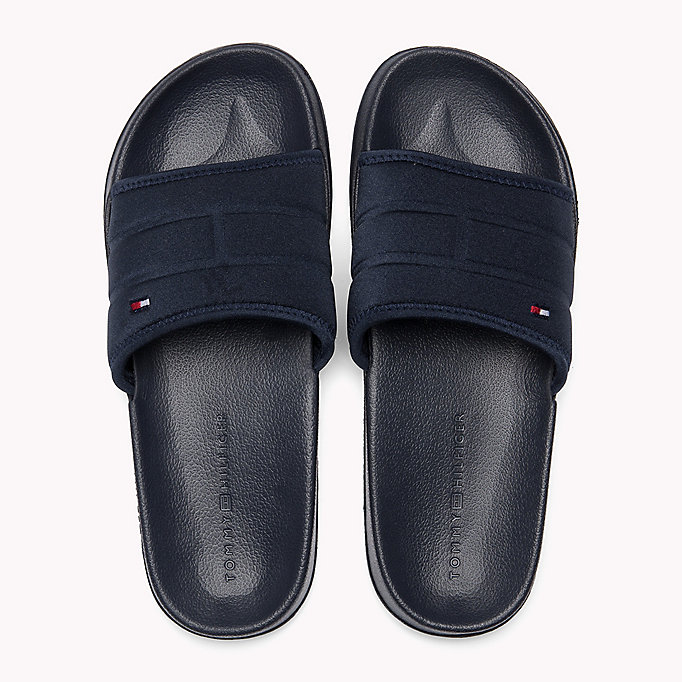 TOMMY HILFIGER Tommy Hilfiger Sliders - BLACK - TOMMY HILFIGER Men - detail image 3