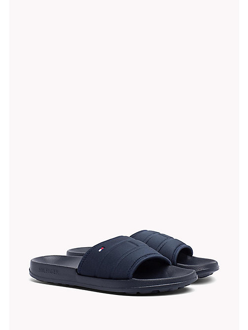 TOMMY HILFIGER Tommy Hilfiger Sliders - MIDNIGHT - TOMMY HILFIGER Summer shoes - main image