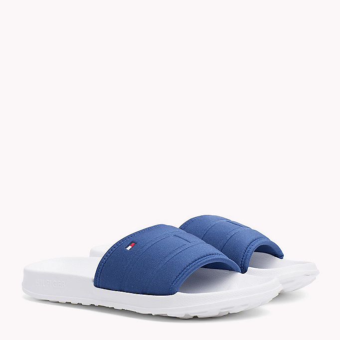 TOMMY HILFIGER Tommy Hilfiger Sliders - MIDNIGHT - TOMMY HILFIGER Men - main image