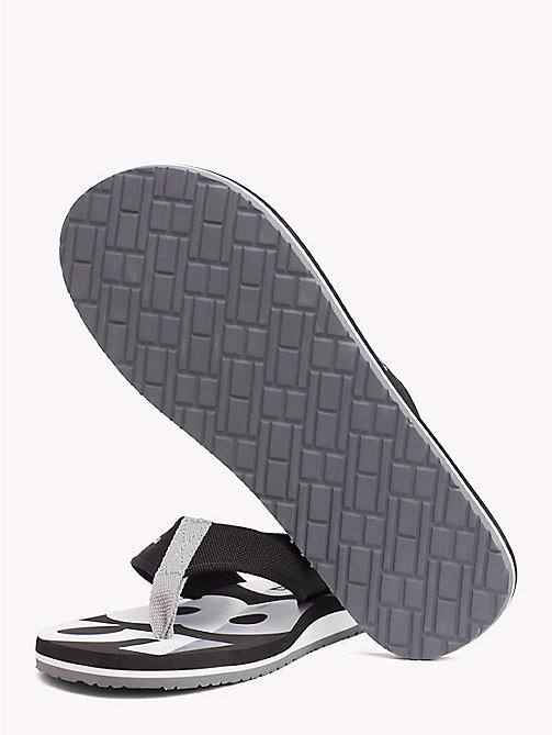 TOMMY HILFIGER BASIC BEACH SANDAL - BLACK - TOMMY HILFIGER NEW IN - main image 1