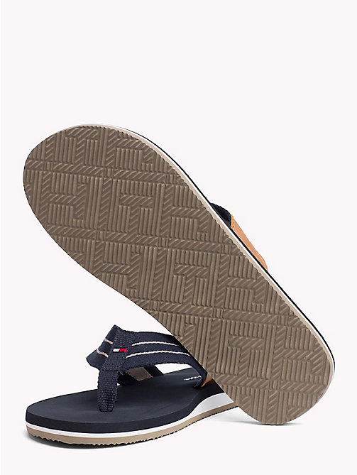 TOMMY HILFIGER Stripe Strap Beach Sandals - MIDNIGHT - TOMMY HILFIGER NEW IN - detail image 1